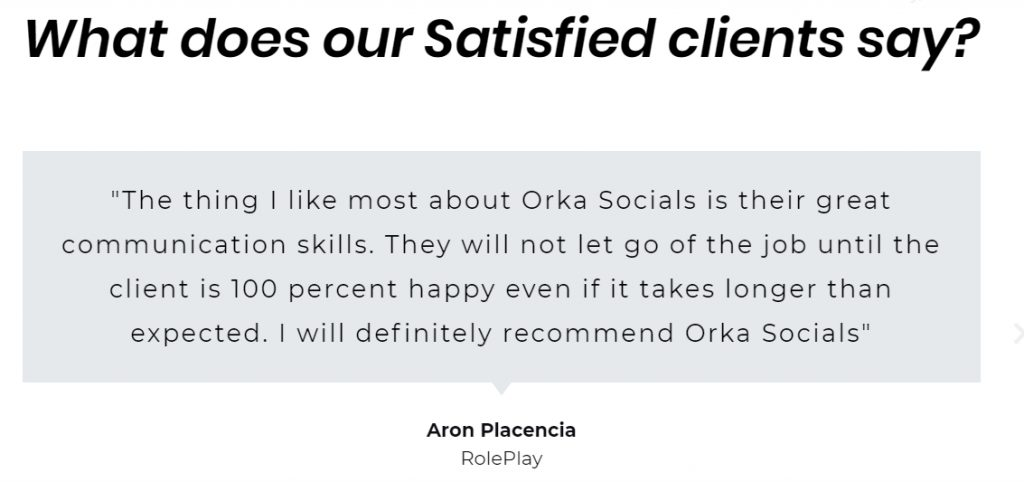 Orka Socials Client Testimonials: Digital Marketing Agency in kathmandu