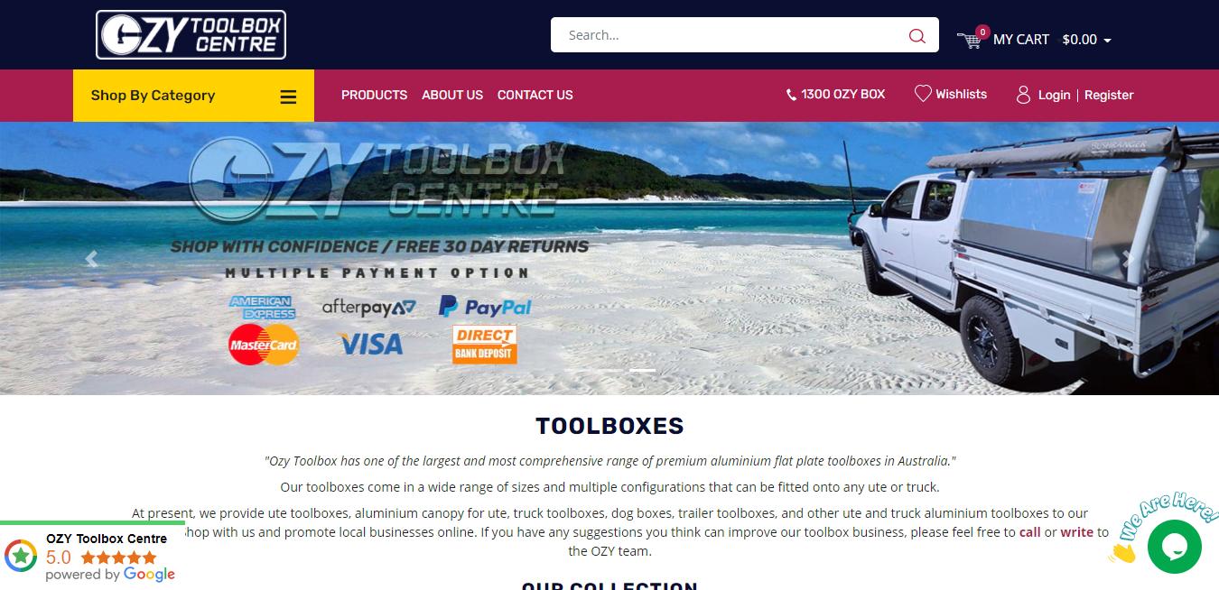 ozytoolbox homepage